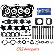 Head Gasket Set+Bolts for 92-01 1.6L SUZUKI SIDEKICK X90 ESTEEM GEO TRACKER 16V
