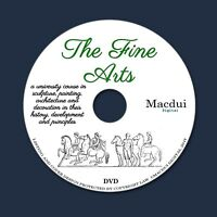 The fine arts, course in sculpture by Edmund Buckley - 2 PDF E-Books on 1 DVD