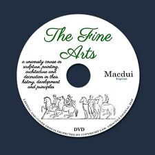 The fine arts, course in sculpture by Edmund Buckley - 3 PDF E-Books on 1 DVD