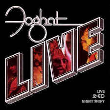 Foghat - Night Shift/Live CD Great cond. (C)