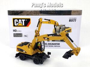 CAT M318D Wheel Excavator HO - 1/87 Scale   - Diecast Metal Model