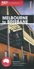 RACV Melbourne to Brisbane Touring Map *FREE SHIPPING - NEW*