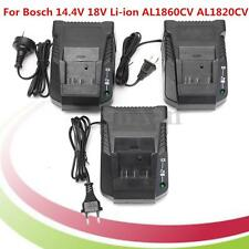 Lithium Li-Ion Battery Fast Charger 2.0A For Bosch 14.4V 18V Power Tool AL1820CV