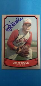 1989 Pacific Legends #147 Jim O'Toole (NM/MT) Autographed by Jim for me