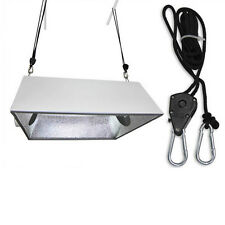 2Pcs Grow Light Rope Hanger Ratchet Reflector Filter Tent Hangers 140lb  GT