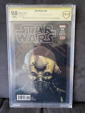 Star Wars #39 Signed By Paul Kasey & Aidan Cook CBCS 9.8 (not CGC) Two Tubes