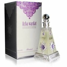 Arba Wardat by Rasasi Four Famous Arabian Flowers Extract Attar/Ittar 30ml