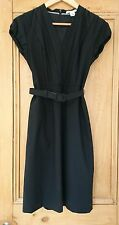 Banana Republic Black Shift Sheath Tunic Wool Dress - UK8 Petite BNWT RRP £85