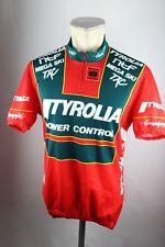 Tyrolia Austria Radtrikot Campagnolo Gr. M 52cm Bike cycling jersey Shirt F5