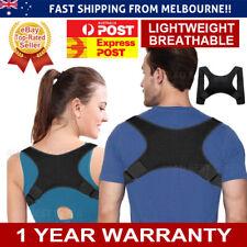 Posture Corrector Shoulder Brace Adjustable Back Support Strap Belt Women Men