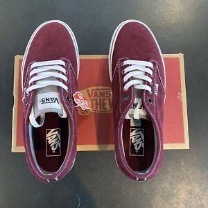Vans Retro Sport Maroon Sneakers Size 9