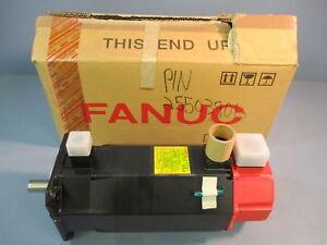 """NIB FANUC A06B-0128-B675 AC Motor 3/4"""" Shaft Brake A6/3000"""