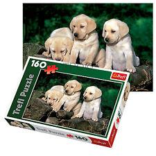 Trefl 160 PEZZI KIDS UNISEX Carino PUPPY Labradors Outdoor RELAX PUZZLE NUOVO