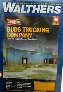 Walthers Cornerstone HO #3192 Buds Trucking Company Kit