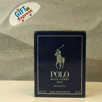 POLO BLUE by RALPH LAUREN 4.2 oz spray EDT For Men PERFUME / COLOGNE  NEW