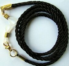 "Dark Brown Coloured  Eye / sun Spectacles  lanyard 24"" (61cm)   Nylon Cord"