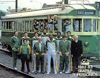 1982 -83 NBA Seattle Supersonics Team Picture Color 8 X 10 Photo Free Shipping
