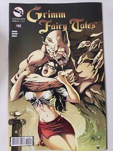 GRIMM FAIRY TALES Vol 1 #102 (2014) ZENESCOPE COMICS 1ST PRINT VARIANT COVER B