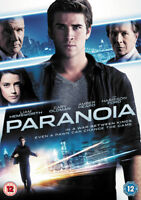 Paranoia DVD (2014) Liam Hemsworth, Luketic (DIR) cert 12 ***NEW*** Great Value