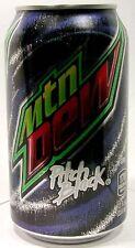 Mountain Dew Pitch Black (w Black Grape) New Full Pepsi Usa Limited Edition 2016