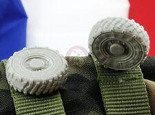Djiti's 1/35 VAB 4x4 French APC Wheels Set Afghanistan (XML type) (4 pcs) 35013