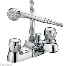 Bristan VAC LBSM C MT Chrome Plated Club Luxury Bath Shower Mixer With Metal