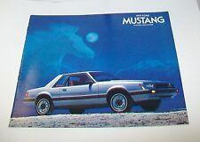 Ventas de Ford Mustang 1979 Catálogo. USA. 1978 de Julio de 2 puertas 3 puertas Ghia Cobra