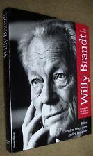 3 x signiert: Jupp Darchinger & Marg. Mathiopoulops: WILLY BRANDT – geb. 1993