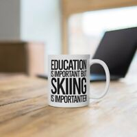 Funny Skiing Mug Skier Mug Skiing Gifts Gift For Skier Skiing Gift Idea Skiing