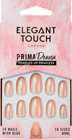 Elegant Touch Prima Donna False Nail Collection PEARLED UP PRINCESS (24 Nails)