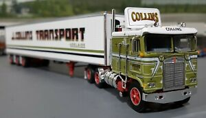 1/64 DCP K100 KENWORTH COLLINS AUSTRALIAN STYLE & TRI TRAILER NEW 60-0731
