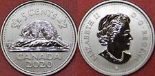 Specimen 2020 Canada 5 Cents From Mint's Set
