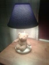 Baby Guess Teddy Bear Nursery Table Lamp