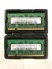 Hynix 512MB PC2-5300 DDR2-667MHz CL5 SoDimm Laptop Memory (HYMP564S64CP6-Y5)