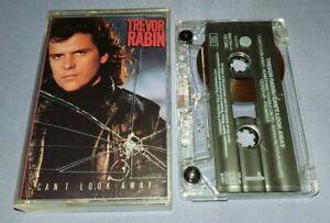 TREVOR RABIN CAN'T LOOK AWAY cassette tape album T9082