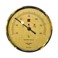 Hygrometer Elie Bleu Gold Large Size