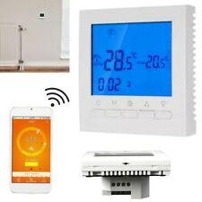 Programmable Button LCD Smart Wireless Thermostat Electric Heating App Control