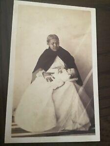CDV POST MORTEM Tragic MOTHER + CHILD c 1860s  CDV Photo 10/10