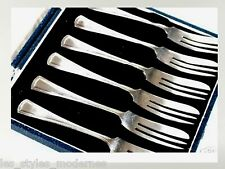E.P.N.S. versilb. art DECO tartes fourchettes suède export