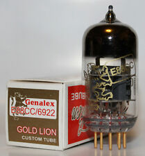 Genalex Gold Lion Ecc88/6922 tubes, Brand New, Balanced Triodes