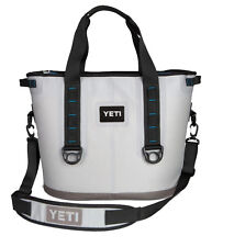 Lightly Used Yeti Hopper 30 Rugged Soft-sided Leakproof Ice Chest Cooler - Gray