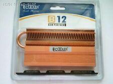 B12 RAM PARTNER HIGH QUALITY PURE COPPER HEATPIPE MEMORY HEAT SPREADER DDR3 4 5