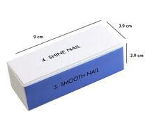 Fashion 5 Pcs Nail Art Manicure 4 Way Shiner Buffer Buffing Block Sanding File