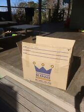 MOVING BOXES x 50!!! used once Excellent Condition
