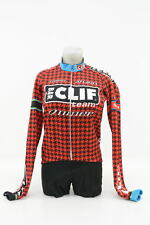 New! Capo Women's Team Cliff Thermal Long Sleeve Cycling Jersey Medium (Red)