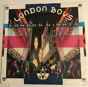 """London Boys - """"London Nights""""  7"""" (1989)  YZ 393 (WEA)    CAT3"""