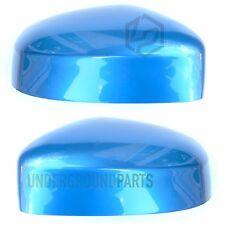 FORD Focus Sinistra Destra Porta RETROVISORI Copre Tappi CASE dipinte Vision Blu
