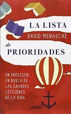 La lista de prioridades (Spanish Edition)