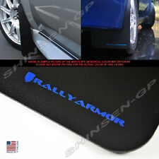 RALLY ARMOR CLASSIC MUD FLAPS FOR 2002-2007 IMPREZA SEDAN WRX STI w/ BLUE LOGO