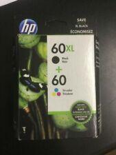HP 60XL Back 60 Tri Color Combo PACK INK Cartridge N9H59FN #3586
